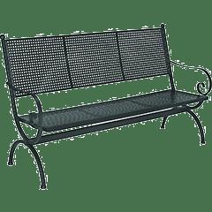 Gartenbänke Eisen
