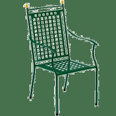 Gartenstühle Grün