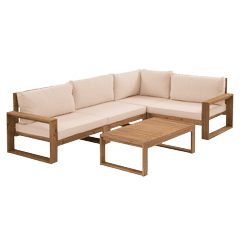 Lounge Sets Holz