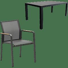 Zebra Gartenmöbel Set