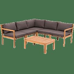 Lounge Set Holz