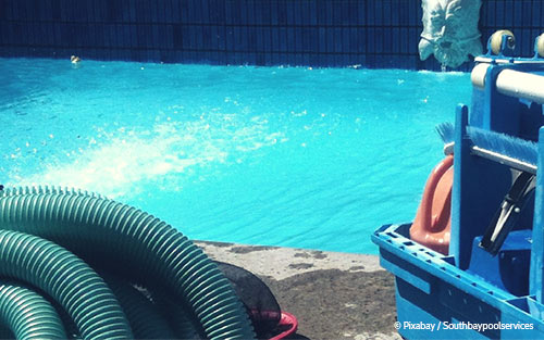 So geht Poolpflege