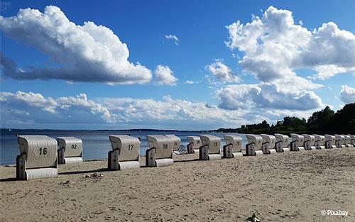 Strandkörbe im Test