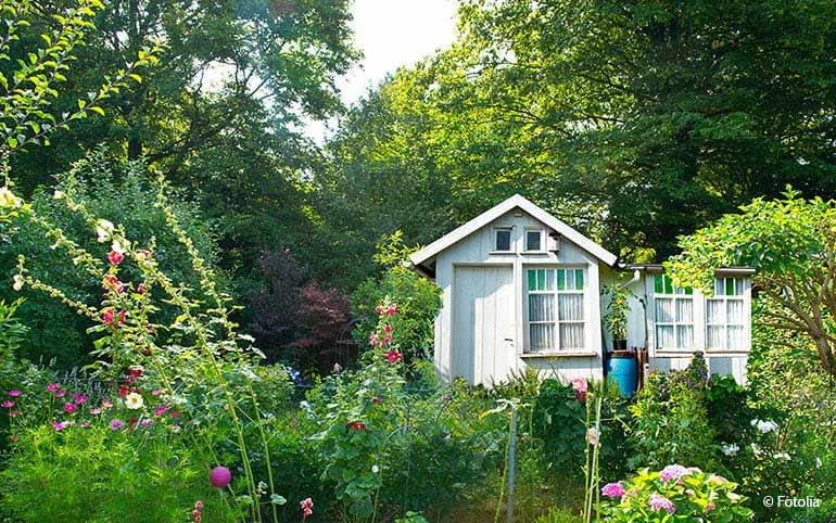 Gartenhaus ohne Baugenehmigung