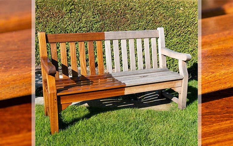 Wann Gartenmöbel aus Holz wieder ölen?